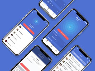 Mobile app development for Wi-Now social app chats connect mobile app web design ux ui search application social network wifi ios app app design