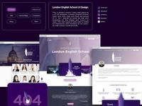 London English School website