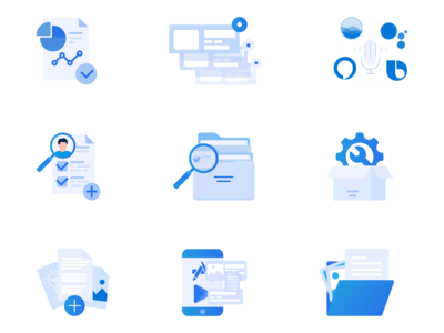 Special package of icons for Simpacta