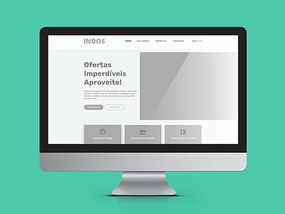 Project Loja Indos - Wireframe - 1/3 user experience interface loja roupa wireframe ux ui bezews design