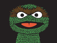 Oscar the Grouch style exploration