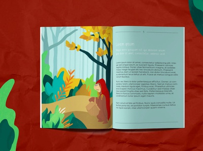 Children's book illustration: Presentation