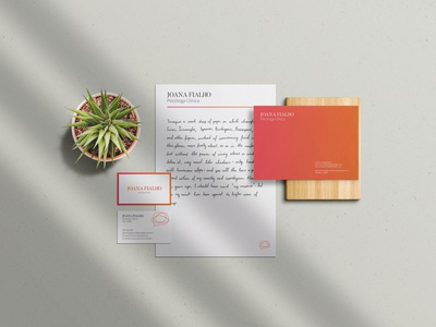 Stationary pieces for Psychologist brand!
