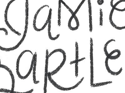 Sketchy Lettering hand lettering sketch wip lettering pencil