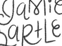 Sketchy Lettering