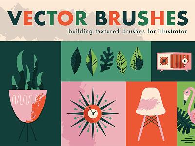 Mid Century Now With Texture eames class illustrator mid century tutorial texture skillshare