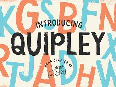 Quipley Hand Lettered Font lettering shop creative market display font hand lettering