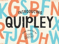 Quipley Hand Lettered Font