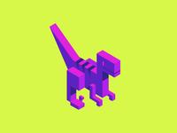 Isometric Raptor