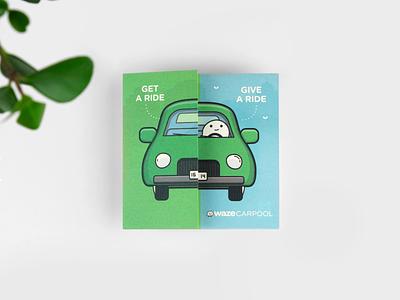 Folded Flyer print