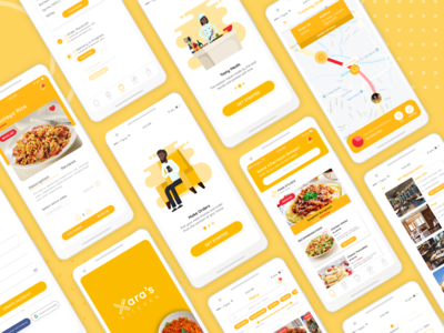 XARA'S KITCHEN - FOOD APP CASE STUDY
