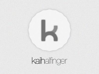 Personal logo logo simple