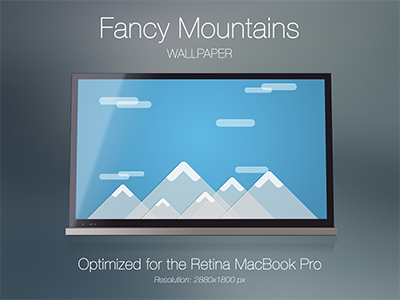 Fancy Mountains [Wallpaper] + Free Download fancy mountains wallpaper simple retina macbook pro