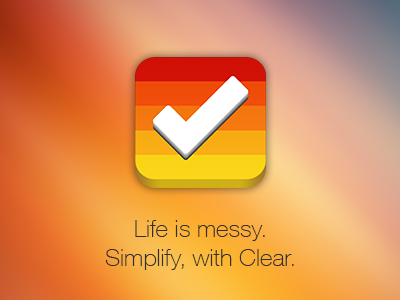 Clear Icon clear iphone ios ipod icon 3d todo app apple