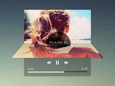 Music Player music player widget simple album
