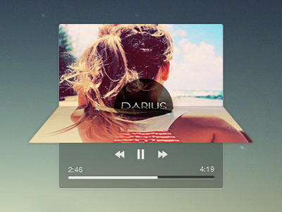Music Player music player widget simple album