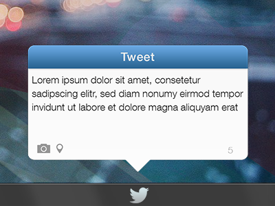 Twitter Widget for Windows twitter widget simple tweet
