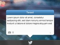 Twitter Widget for Windows