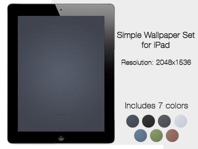 Simple iPad Wallpaper Set (Freebie) ipad wallpaper simple download freebie wallpaper set