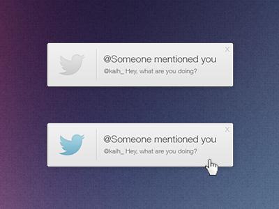 Twitter Notification twitter notification