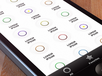 Soundboard App for iPhone (Concept) soundboard iphone buttons interface