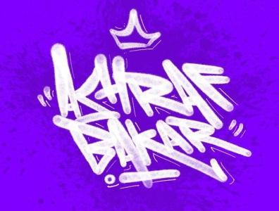 Typography - Graffiti fat cap tagging grafik typography