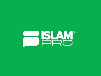 IslamPro App | Logo muhammad allah app logo application islamic logo islamic art islamic islampro islam ui app watermark logo