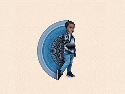 Kecintaan baby children kid photoshop manipulation illustration