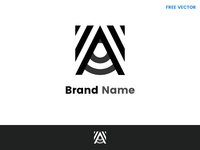 A letter – Logo Template