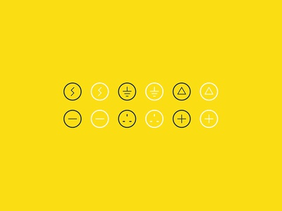 Sibley Electrical Icons minimal icons