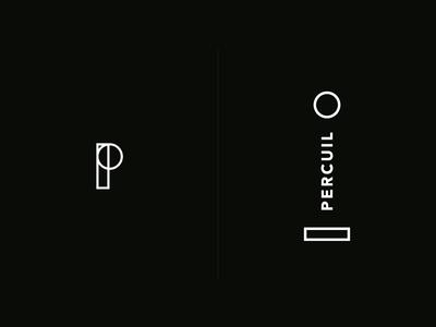 Percuil Branding marque branding minimal