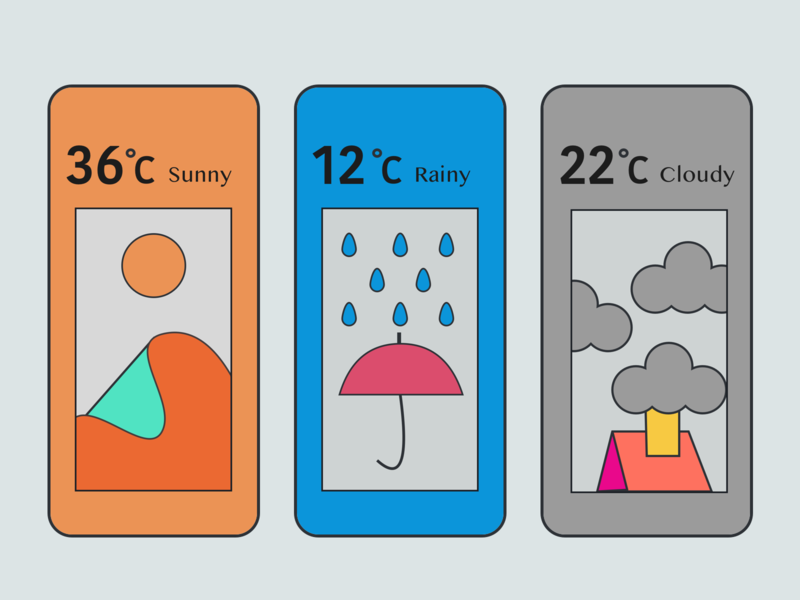 Day14 - Weather App Concept