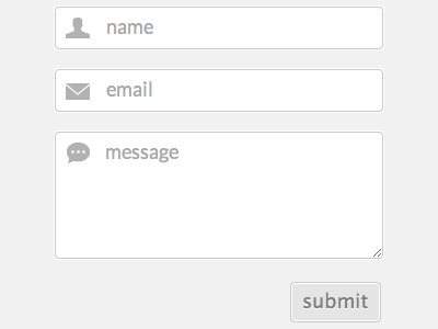 Contact Form Updated contact form personal