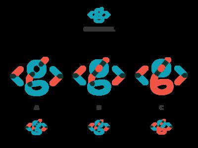 Personal Overprint Logo Idea idea wip brand feedback overprint orange blue g