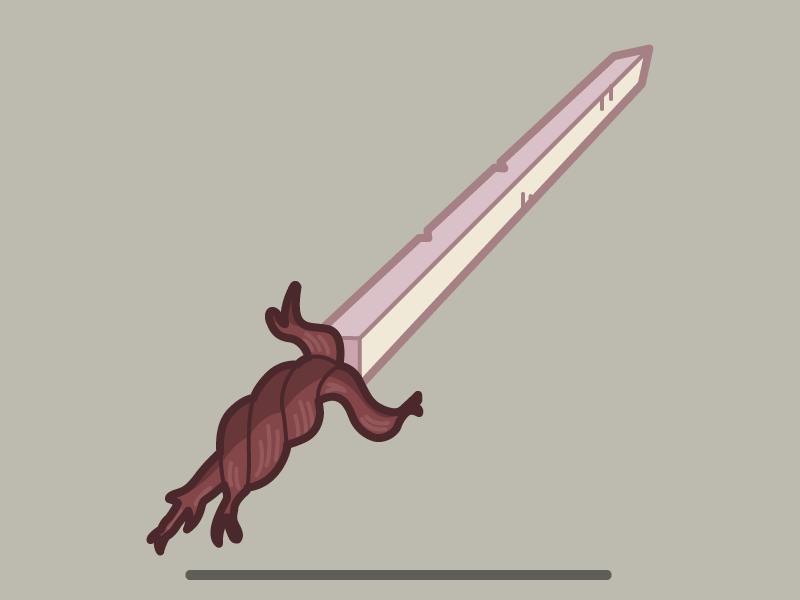 Root sword root sword finn vector
