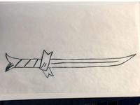 Grass Sword Sketch