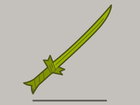 Grass Sword Vector
