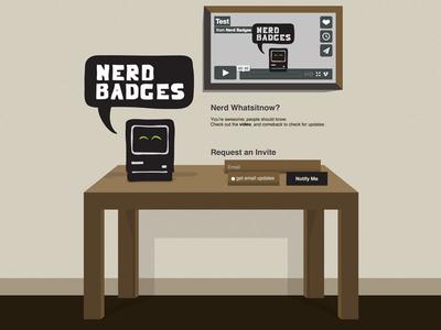 Nerd Badges (limboed project)
