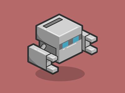 Phonegap Bot flat source bot robot phonegap art line