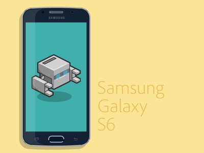 Galaxy S6 Vector