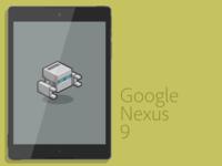 Google Nexus 9 Vector
