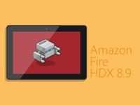 Amazon Fire HDX 8.9 Vector
