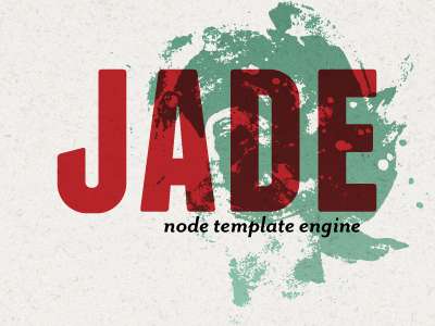 Jade Template Engine | Garth Braithwaite Projects Jade Template Engine Dribbble