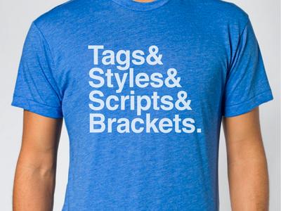 & Brackets. shirt