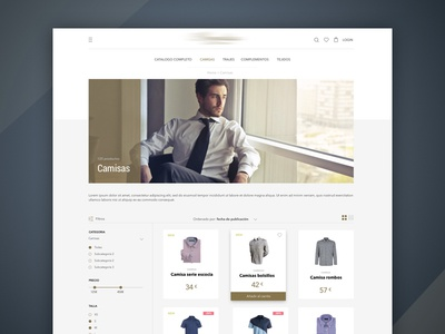E Commerce - Products