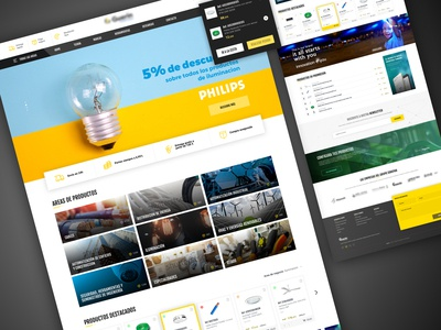 Electric Material Store - Homepage