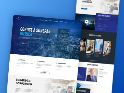 Sonepar Corporate Website corporate design card wordpress responsive design electric homepare branding design website web ux ui