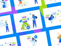 File Sharing Illustration