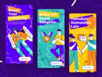 Community On-boarding UI Apps