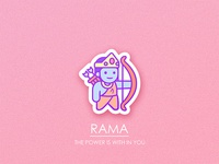 Rama Sticker
